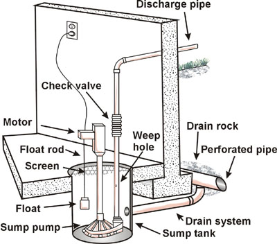 my basement sump pump failed  what do i do